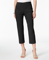 JM Collection Studded Capri Pants, Only at Macy's