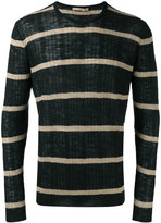 Nuur striped jumper - men - Cotton/Linen/Flax/Polyester - 48