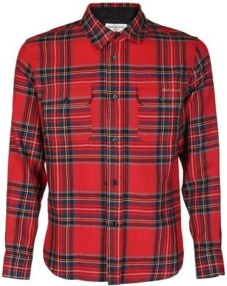 Saint Laurent Tartan Print Shirt
