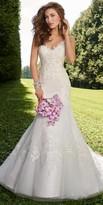 Camille La Vie Sweetheart Lace Applique Wedding Dress