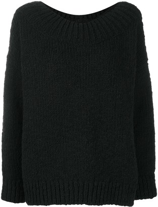 Dolce & Gabbana Scoop Neck Knitted Jumper