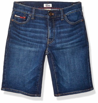 Tommy Hilfiger Women's Adaptive Bermuda Shorts with Velcro Brand Closure and Magnetic Fly
