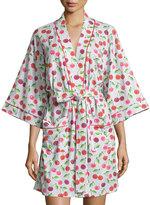 BedHead Sweet Cherry Printed Kimono Short Robe