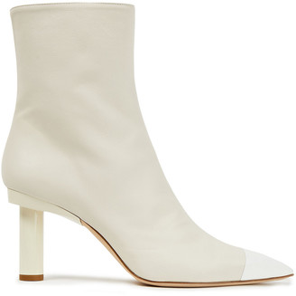 Tibi Two-tone Leather Ankle Boots
