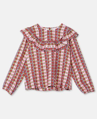 Stella Mccartney Kids Stella McCartney rising stars tencel twill blouse