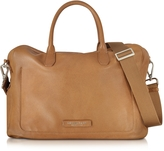 The Bridge Brown Leather Tote w/Shoulder Strap