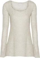 Autumn Cashmere Cashmere and silk-blend sweater