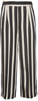 MSGM Striped Flared Trousers