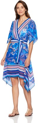 Gottex Women's Hankerchief Wrap Beach Dress Swimsuit Cover Up