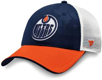 Fanatics Edmonton Oilers NHL Revise Iconic Trucker Cap