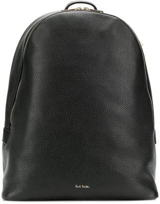 Paul Smith signature stripe straps backpack