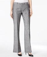 Calvin Klein Linen Flared Trousers