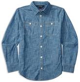 Ralph Lauren Girls' Chambray Shirt - Sizes 7-16
