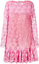 Miu Miu lace dress - women - Silk/Cotton/Polyester - 36