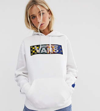 Vans X Harry Potter Four Houses white hoodie