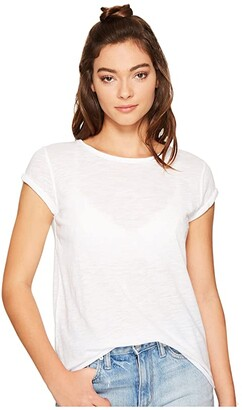 Free People Clare Tee (Black) Women's T Shirt
