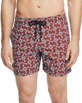Vilebrequin Moorea Fish Print Swim Trunks