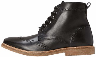Find. Mens Boots in Brogue Design with Crepe Sole
