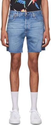 Levi's Levis Blue Denim 501 93 Shorts