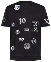 Lanvin 10 Year Badge Logo T-shirt