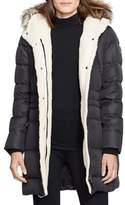 Lauren Ralph Lauren Quilted Faux Fur-Trimmed Jacket