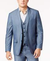 INC International Concepts Men's Chambray Suit Jacket, Created for Macy's