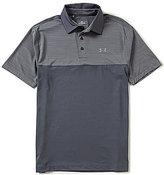 Under Armour Golf Playoff Blocked Short-Sleeve Polo Shirt