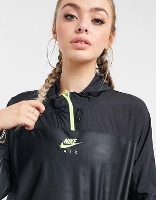 Nike Running Nike Air Running pull-on jacket in black