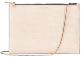 Aspinal of London Women's Soho Double Sided Pouch Clutch Bag Monochrome