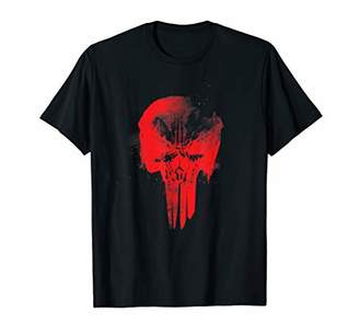 Marvel The Punisher Red Skull Symbol T-Shirt