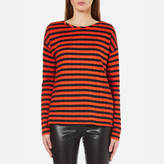 BOSS ORANGE Women's Tibow Striped Top