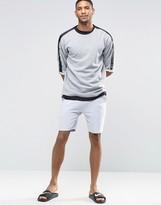 Asos Shorts In Gray Marl