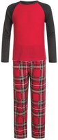 Komar Kids Holiday Plaid Thermal Pajamas - Long Sleeve (For Kids)