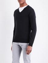 John Smedley Blenheim V-neck merino wool jumper
