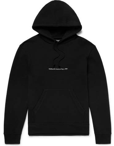 Calvin Klein + Andy Warhol Foundation Oversized Printed Embroidered Loopback Cotton-Jersey Hoodie