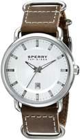 Sperry Men's 10008959 Striper Analog Display Japanese Quartz Brown Watch