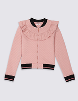 Marks and Spencer Cotton Rich Bomber Jacket (3-14 Years)
