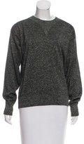 Isabel Marant Metallic-Accented Crew Neck Sweater