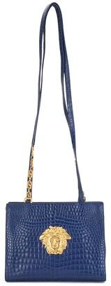 Versace Pre-Owned Medusa crocodile-embossed shoulder bag