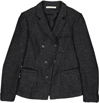 Balenciaga Black Tweed Jackets