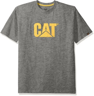 Caterpillar mens1510305Tm Logo T-Shirt Short Sleeve T-Shirt - Green - XXL