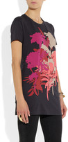 Jonathan Saunders Floral-print stretch-jersey T-shirt