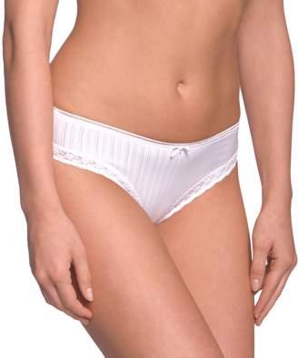 Schiesser Women's Hip-String Brief - Beige - Hautfarben (403-sekt) - 14 (Brand size: L)