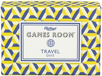 Ridleys Travel Quiz