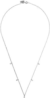 VANRYCKE 18kt white gold Starbust diamond necklace