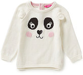Joules Baby/Little Girls 12 Months-3T Panda Sweater