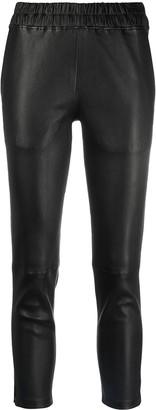 Inès & Marèchal Black Leather Pants