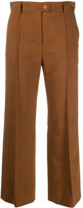 See by Chloe Flared Cropped Trousers