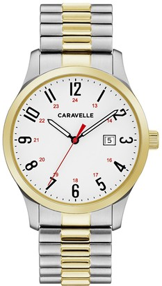 Caravelle by Bulova Men's Easy Reader Expansion Watch