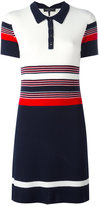 Rag & Bone striped polo dress - women - Merino - XS